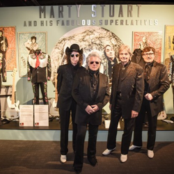 Marty Stuart & His Fabulous Superlatives have their own artifacts in the exhibit.