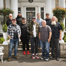 MercyMe, Crowder and Micah Tyler visited in March 2019.