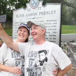 The Elvis 5k takes place annually during Elvis Week.