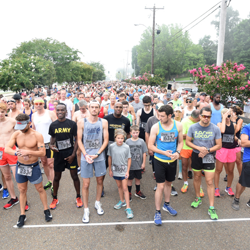 The 37th annual Elvis 5k kicked off in front of Graceland.