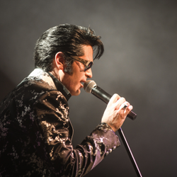 Dean Z won the Ultimate Elvis Tribute Artist Contest in 2013.