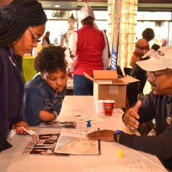 Organizations such as the Stax Museum of American Soul Music, Sky Zone Memphis, the Memphis Grizzlies and the Memphis Zoo met with Scouts on Scout Day.