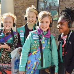 Scouts toured Graceland, mastered robotics, sang karaoke, voted for their favorite Elvis song, learned about wildlife and much more at Scouts Rock.