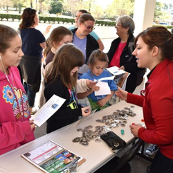 Museums and other organizations were at Scout Day so Scouts could get an up-close look at animals, fossils, artifacts and more.