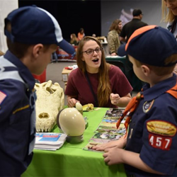 Scouts from across the country attended Scouts Rock at Graceland 2017.