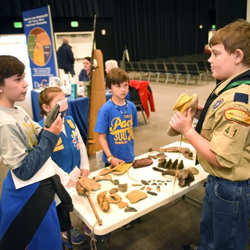Scouts learned new skills and earned achievements toward ranks or pin/belt loop/merit badge requirements.