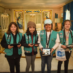 Scouts toured Graceland and voted for their favorite Elvis song during Scouts Rock.