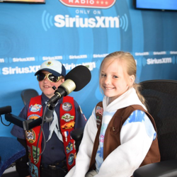 Boy Scouts and Girl Scouts checked out the SiriusXM Elvis Radio studio at Graceland.