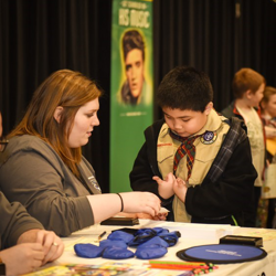 Scouts Rock at Graceland is a day for Scouts to learn and create at Graceland.