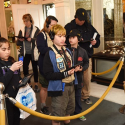 Scouts learned about Elvis and toured Graceland during Scouts Rock.