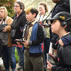 Scouts learned about Elvis while touring Graceland and Elvis Presley