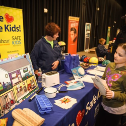 Scouts learned about safety from Le Bonheur Children