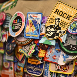 The Scouts Rock patch is a must have!