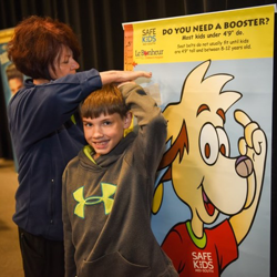 Scouts learned about health and safety from Le Bonheur Children