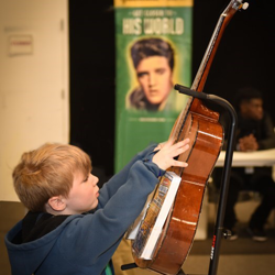 Scouts learned about music and more at Scouts Rock.