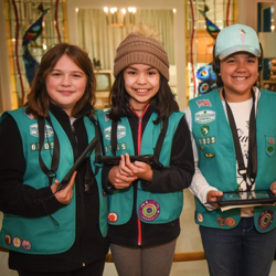 Scouts toured Elvis Presley