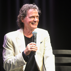 Singer BJ Thomas shared his memories of Elvis at the American Sound Studio Panel.