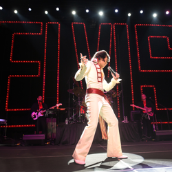Taylor Rodriguez, 21, is the 2019 Ultimate Elvis Tribute Artist.