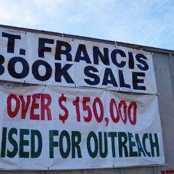1994 Book Sale Banner