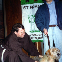 1992 Brother Justice Blesses Animals