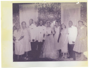 Carolyn Bailey and Charles Champion wedding at Lorraine