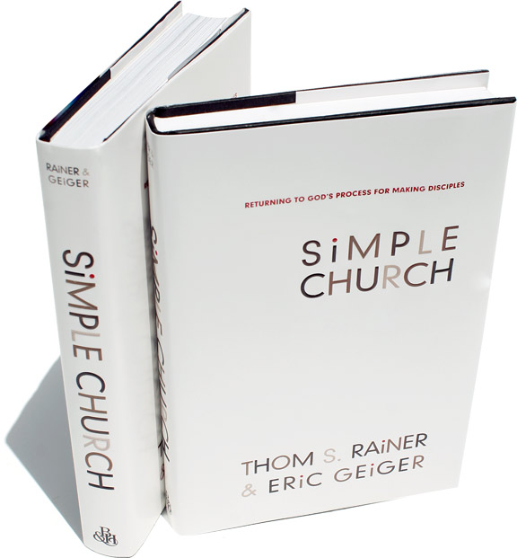 Simple Book Cover Review : Metro praise int l quot simple church book review