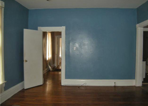 Serenity now using blue in the bedroom for Blue jean paint color