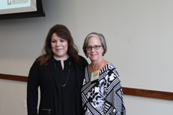 Cristie with Michelle Thompson, Milliman