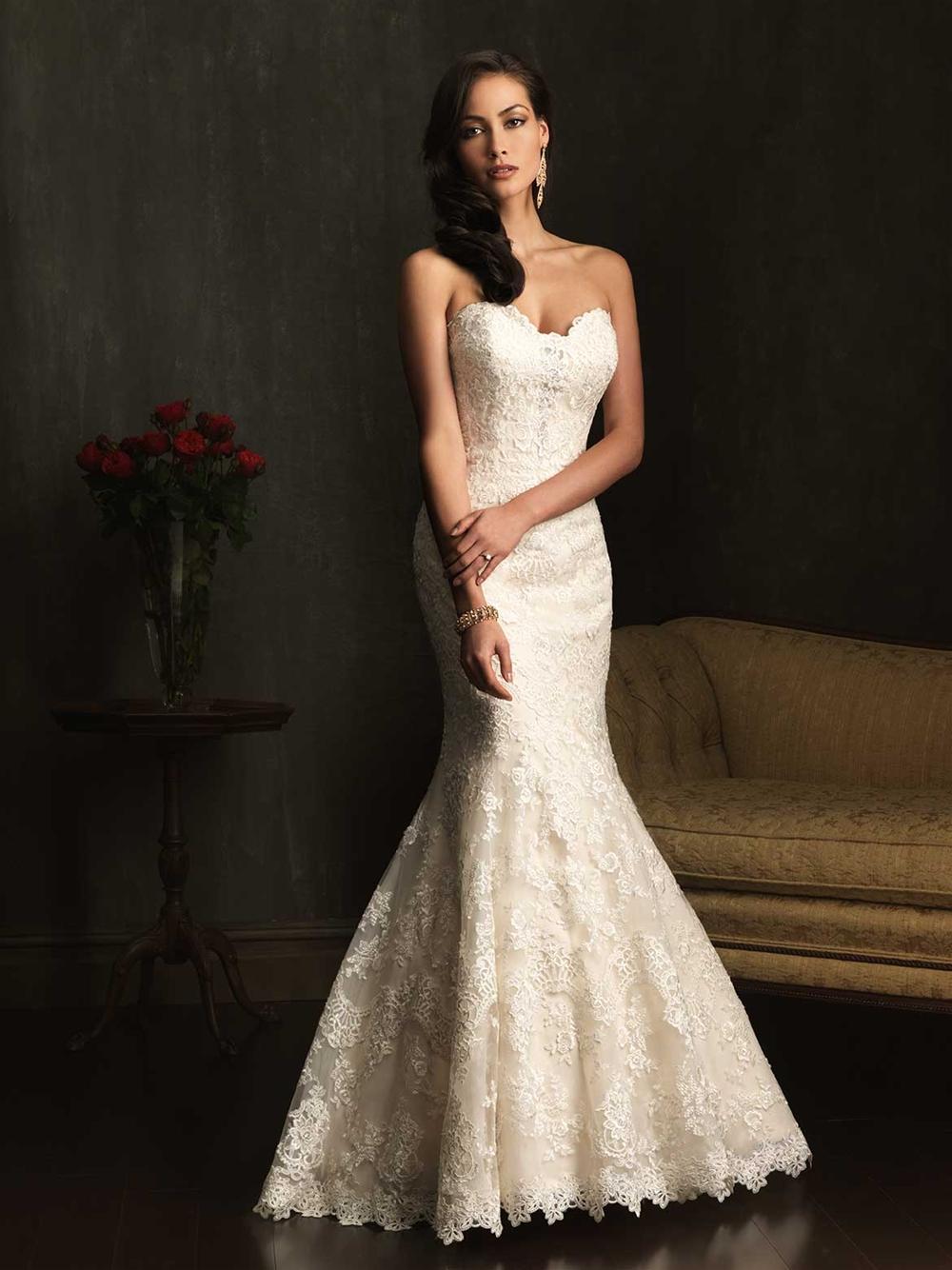 e07a8240357 Allure Bridals  Style  9072