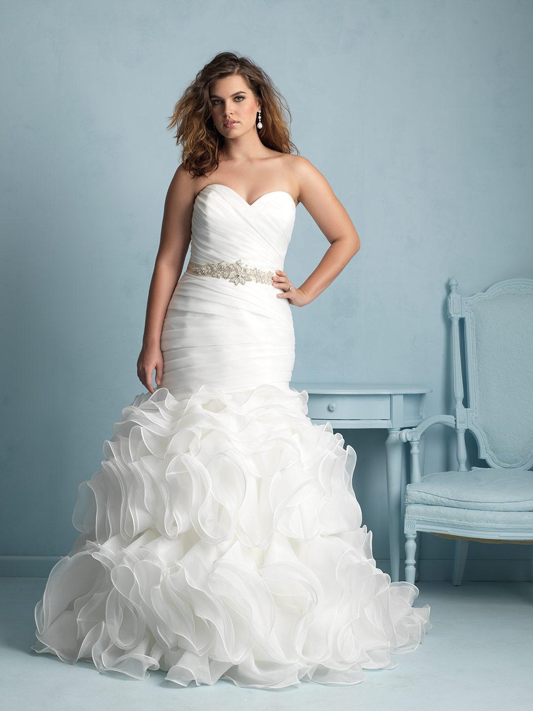 a195067b0f2 Allure Bridals  Style  W353