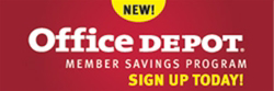 Office Depot - MBA Endorsed Vendor