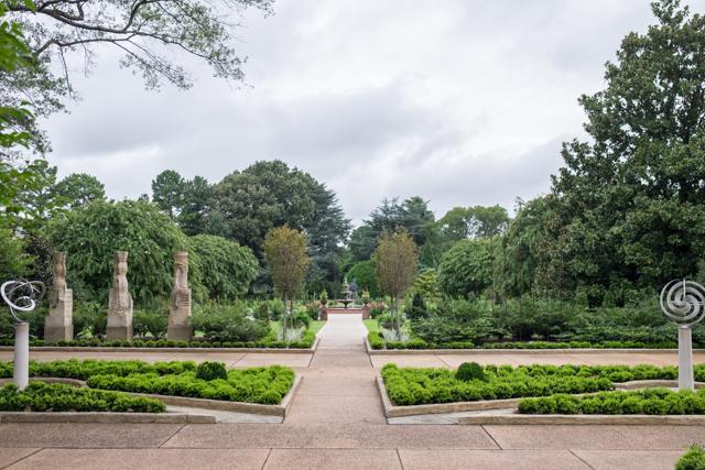 Sculpture garden for Garden trees memphis