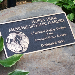 Hosta Trail is one of only two designated display gardens in the Southern United States.