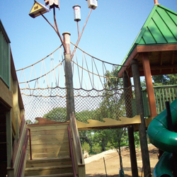 Treetop Adventure is an accessible area that gives visitors a birds-eye view of My Big Backyard.