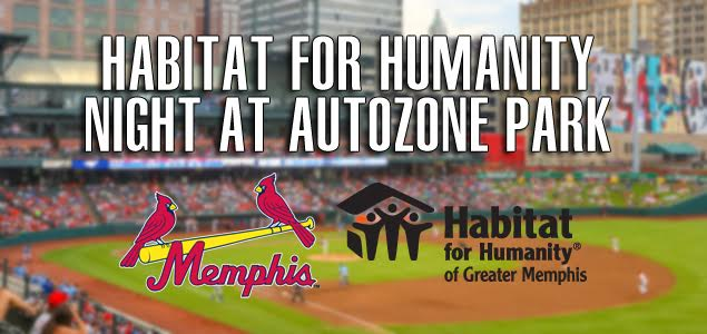 Join Us for Habitat for Humanity Night at AutoZone Park Aug. 26