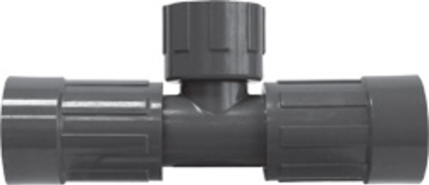Residential & Commercial Irrigation UltraZone Tee<br/>FVCONN (2) x NUT