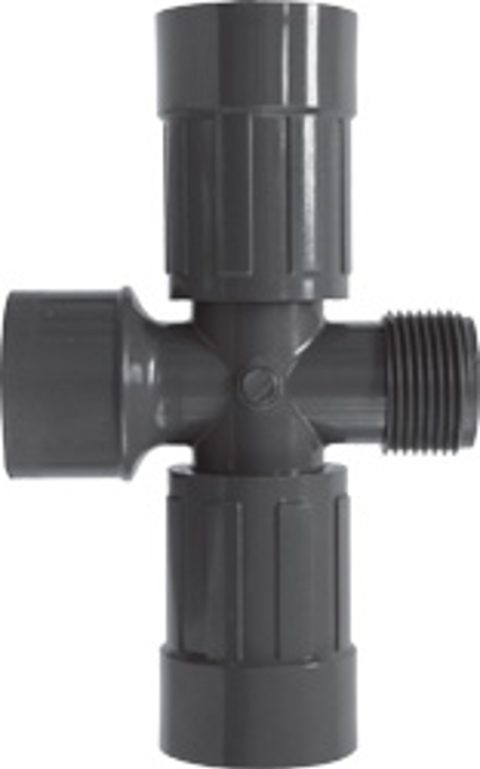 Residential & Commercial Irrigation UltraZone Cross<br/>SLIP x MTHD x FVCONN (2)