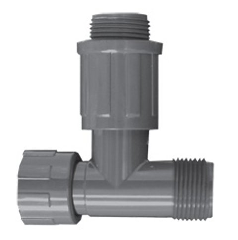 Residential & Commercial Irrigation UltraZone Tee<br/>NUT x MTHD x MVCONN