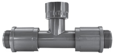 Residential & Commercial Irrigation UltraZone Tee<br/>MVCONN (2) x NUT