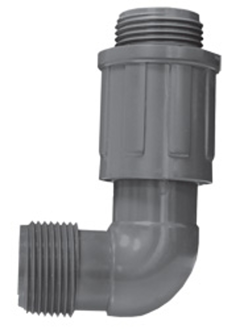 Residential & Commercial Irrigation UltraZone Elbow<br/>MTHD x MVCONN