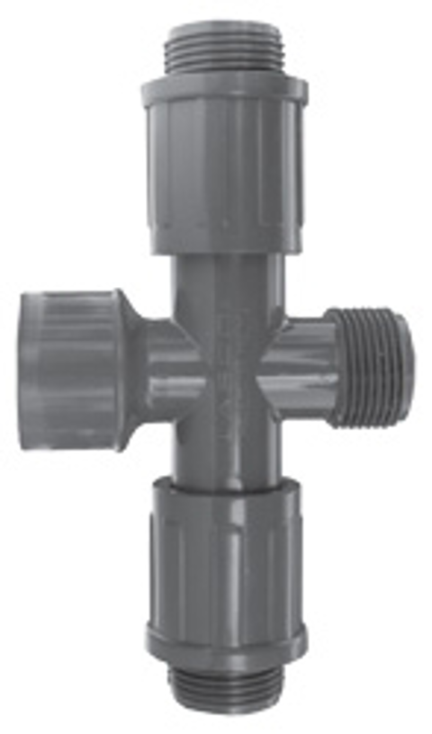 Residential & Commercial Irrigation UltraZone Cross<br/>SLIP x MTHD x MVCONN (2)