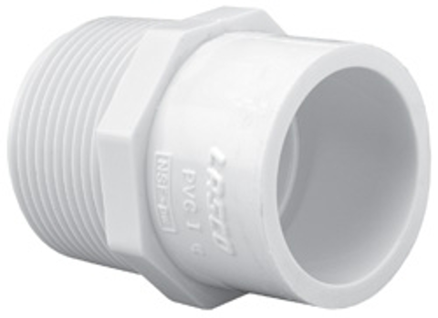 Sch40 Reducing Male Adapter<br/>MPT x Slip