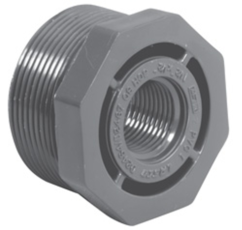 Sch80 Reducer Bushing (Flush Style)<br/>MPT x FPT