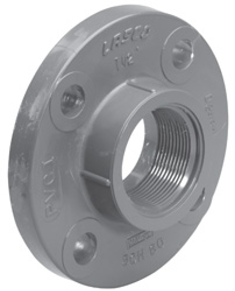 Sch80 Flange (Solid Style)<br/>FPT