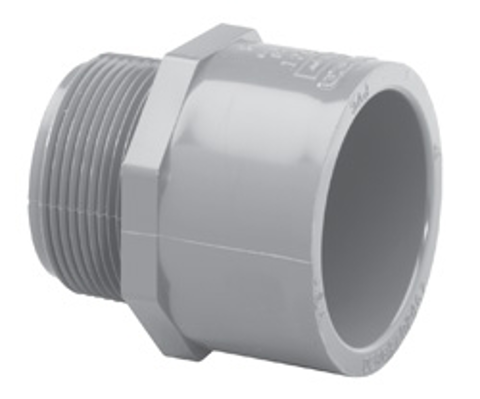 SCH80C Male Adapter<br/>MPT x Slip