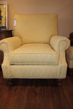 Yellow C.R. Laine Chair