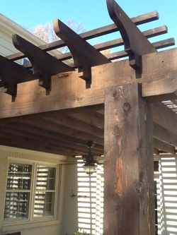 An example of notched beams and rafters
