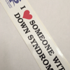 DS Awareness Bumper Sticker
