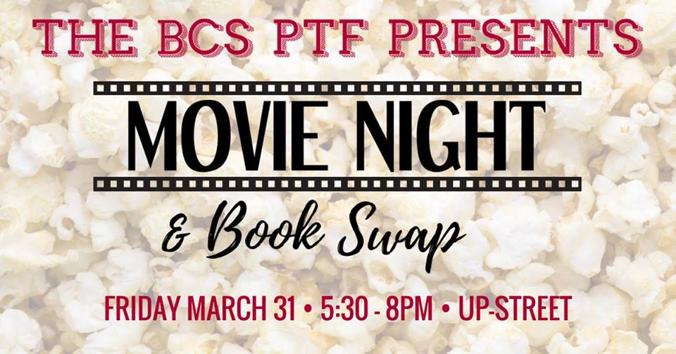 Movie & Book Swap Sponsored by the PTF
