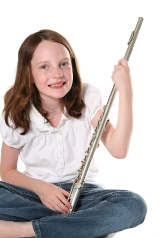 Flute Beginner with rental flute